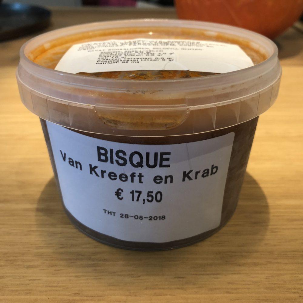 Bisque van Kreeft en Krab